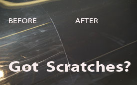 How To Get Scratches Out Of Plastic On Car